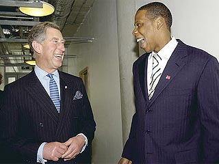 Prince Charles with Jay-Z
