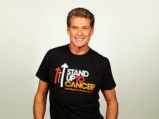 David Hasselhoff, Stand Up For Cancer