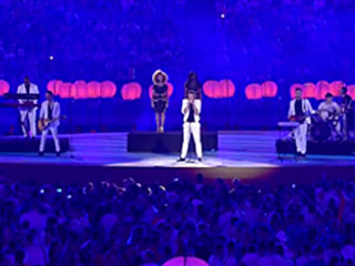 John Newman Closing Ceremony at Baku 2015 European Games